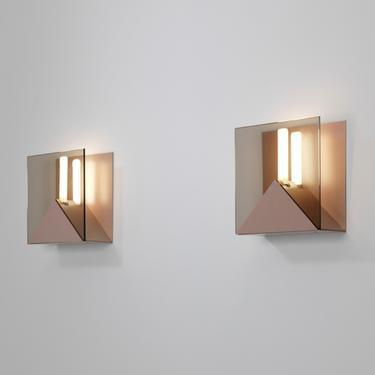 Verre Lumiere Studio Pair of Sconces, Model 20620