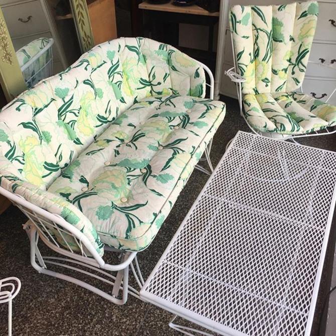 Funky MCM 4 piece patio set! $495