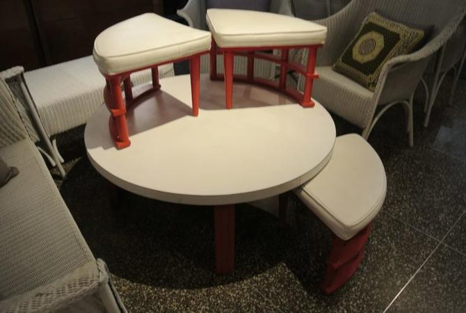 Japanese style five piece dining set. $295