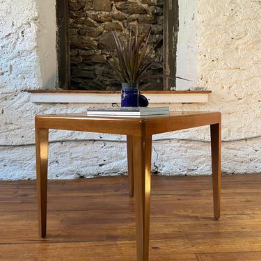 Mid century end table mid century Danish modern side table mid century modern end table a pair by VintaDelphia