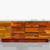 Jorge Zalszupin Style Patchwork Sideboard