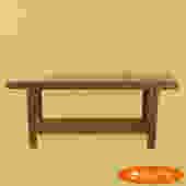 Brown Jordan Rattan Console Table