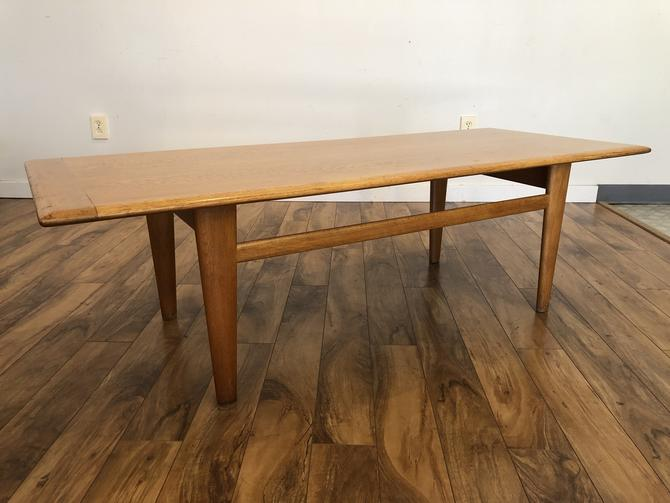 Large White Oak Coffee Table, Norway