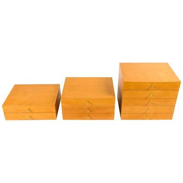 Paul McCobb Planner Group Stacking Chests for Winchendon, USA, 1950s