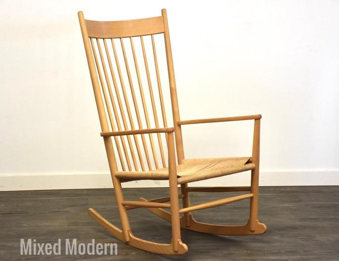 Hans Wegner Danish Rocking Chair by mixedmodern1