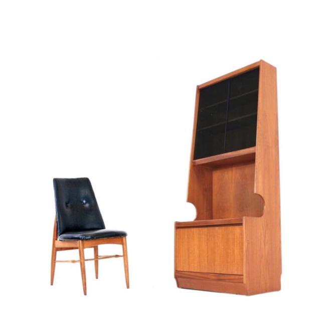 Mid Century Danish Display Cabinet by SputnikFurnitureLLC