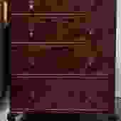 Item #S19 Mahogany Chest of Drawers c.1940s