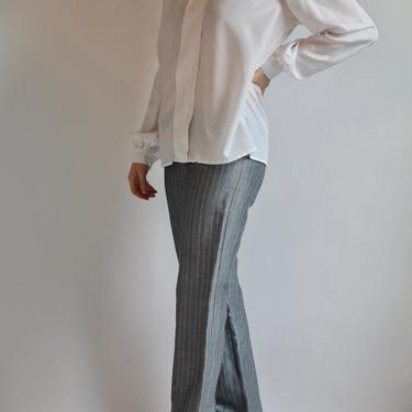 Gray Italian Pants Benetton Small by BeggarsBanquet