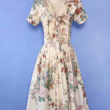 Antara Tea Time Floral Dress M/L