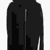 Rick Owens Black Hooded Jacket