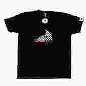 sPACYcLOUd Checkered Kicks Tee