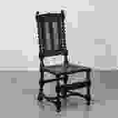 Barley Twist & Bouquet Chair