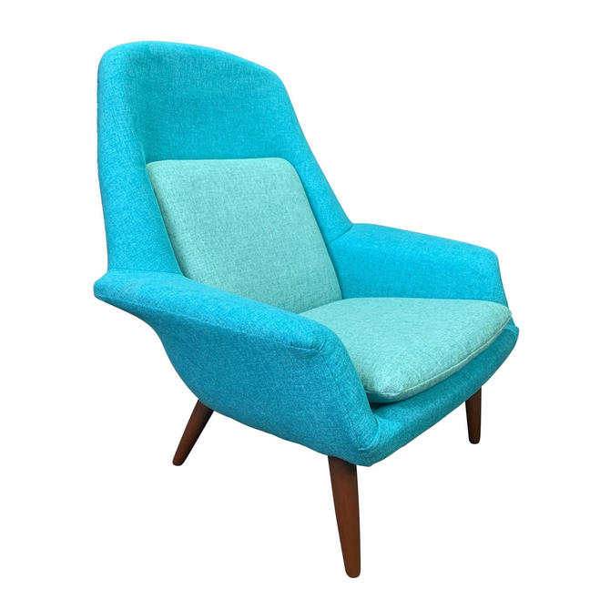 Vintage Scandinavian Mid Century Modern Lounge Chair by Broderna Anderssons by AymerickModern