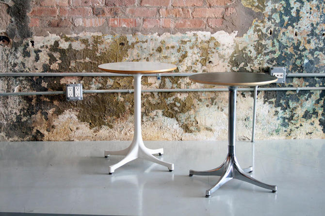 Swag Leg tables by George Nelson for Herman Miller