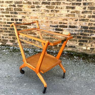 Vintage Cesare Lacca Serving Cart