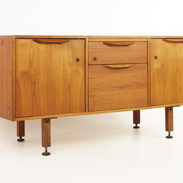 Jens Risom Mid Century Walnut Sideboard Credenza - mcm by ModernHill