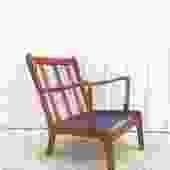 Mid Century Lounge Chair Frame by John Stuart