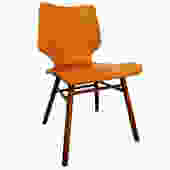 Mid Century Danish Modern Bentwood Eames Era-Style Plyform Side/Accent Chair by AnnexMarketplace