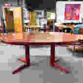 Rosewood extension dining table