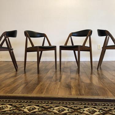 Kai Kristiansen Model 31 Teak Dining Chairs - Set of 4 by Vintagefurnitureetc