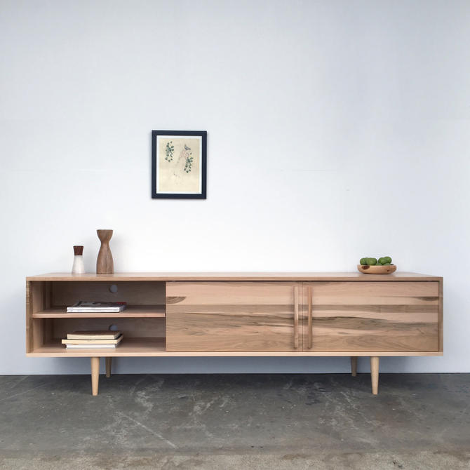 "Kasse Credenza / TV Stand 100"" in Solid Brown Maple - Natural Finish - Reserved for Paula by STORnewyork"
