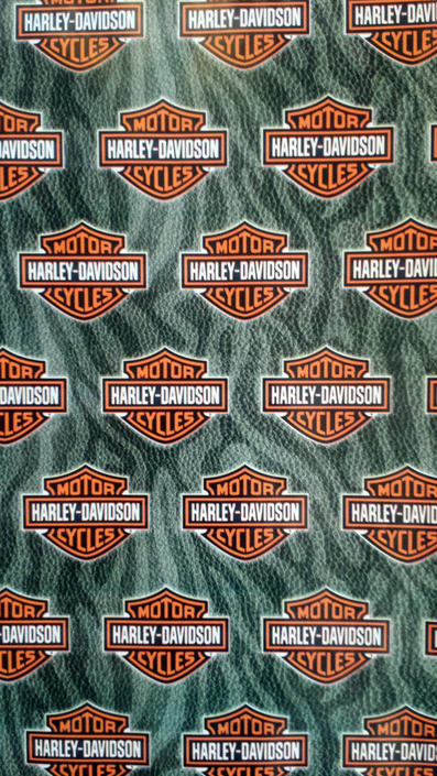 NeW Harley Davidson Gift Wrap, Biker Motorcycle Party Wrapping Paper by AGoGoVintage