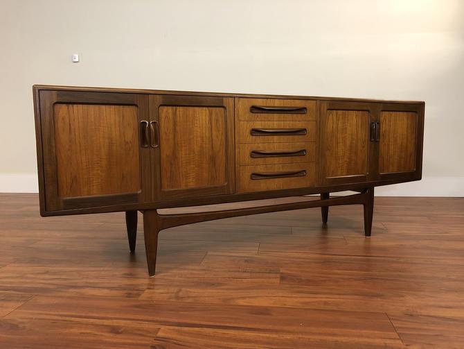 G-Plan Mid 1960s Long Teak Sideboard Buffet by Vintagefurnitureetc