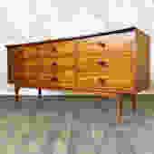 Mid Century Lane Credenza Dresser