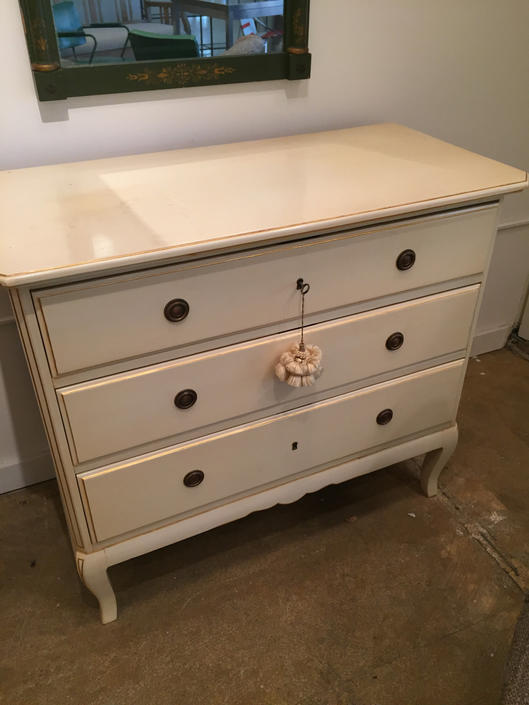 Vintage Swedish Dresser Mid Century by coloniaantiques