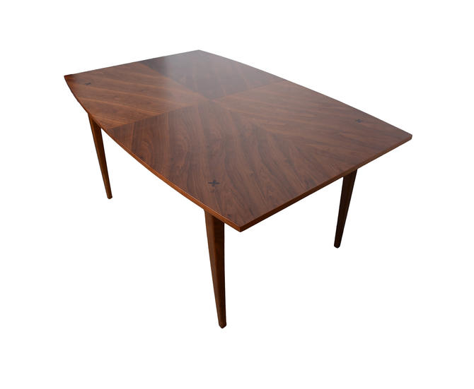 Walnut Dining Table American of Martinsville X Mid Century Modern by HearthsideHome