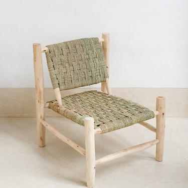 Moroccan Wicker Accent Chair by CangguHome