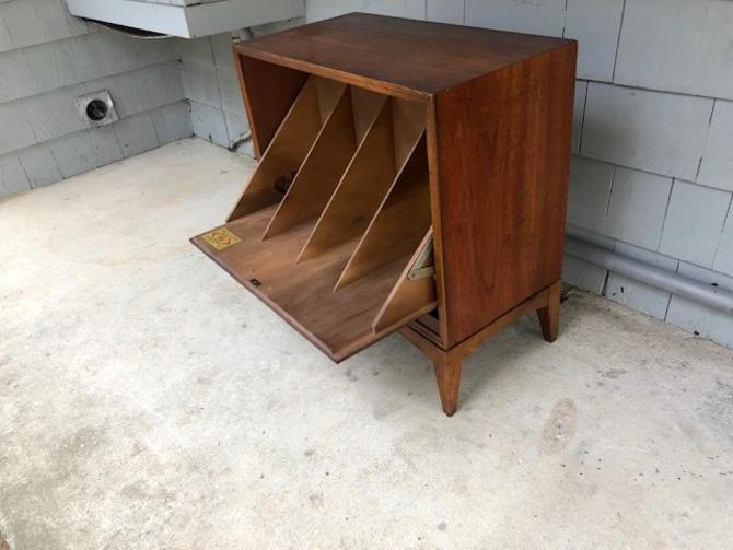 Midcentury Record Cabinet by Lane