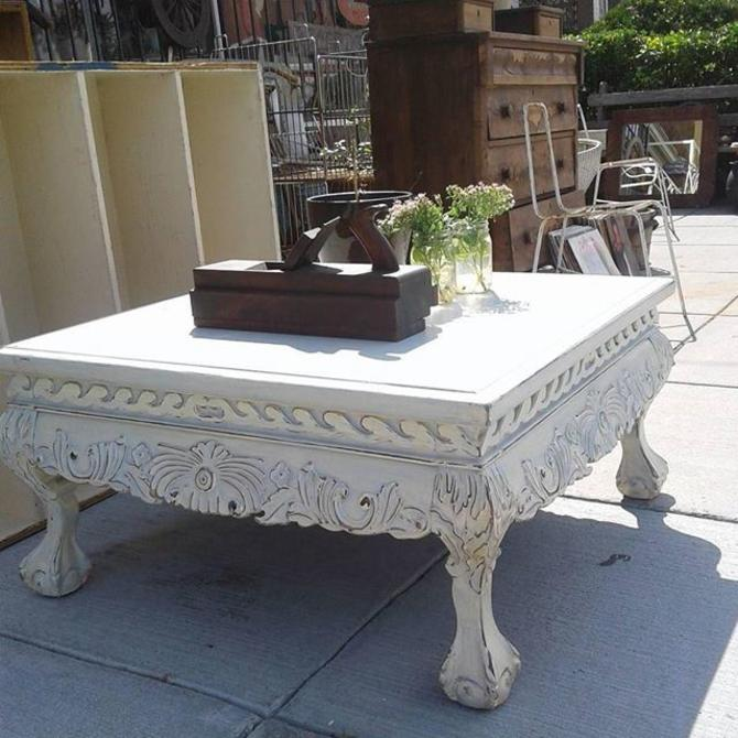 """463 Best Images About Ccc Bentley On Pinterest: Distressed Shabby Chic Coffee Table 3'x3'x18"""" From Bentley"""