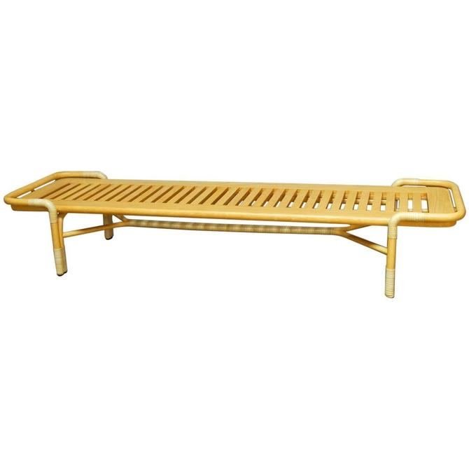 Bassam Fellows Queen Bench Daybed for McGuire by ErinLaneEstate