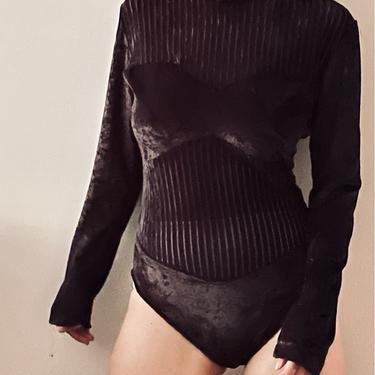 Velvet Body Suit