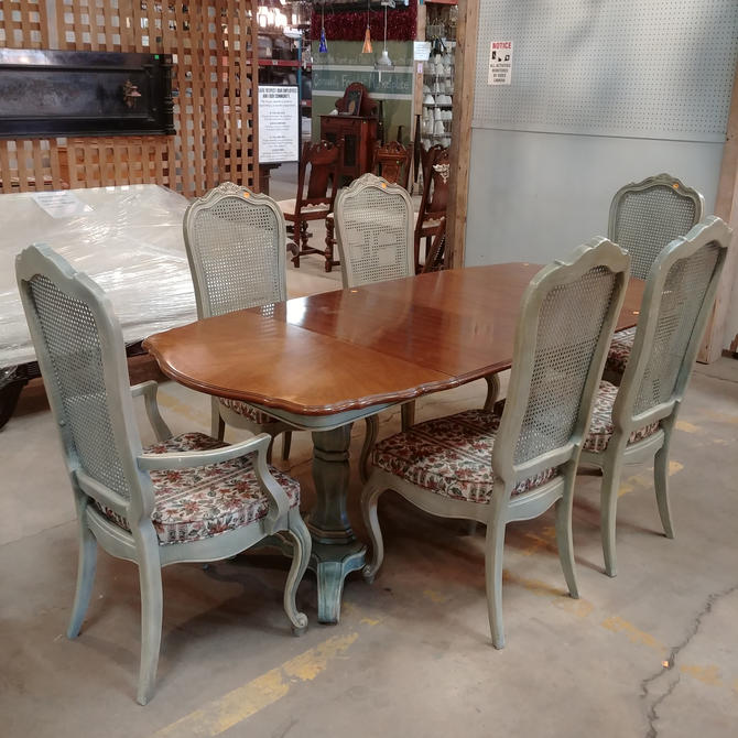 French Country Style Dining Set