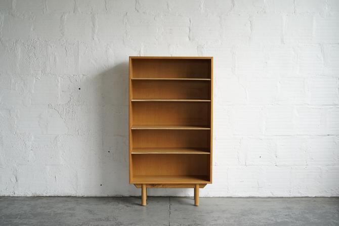 Danish Oak Bookshelf