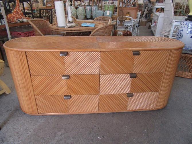 Island Style Split Bamboo Dresser