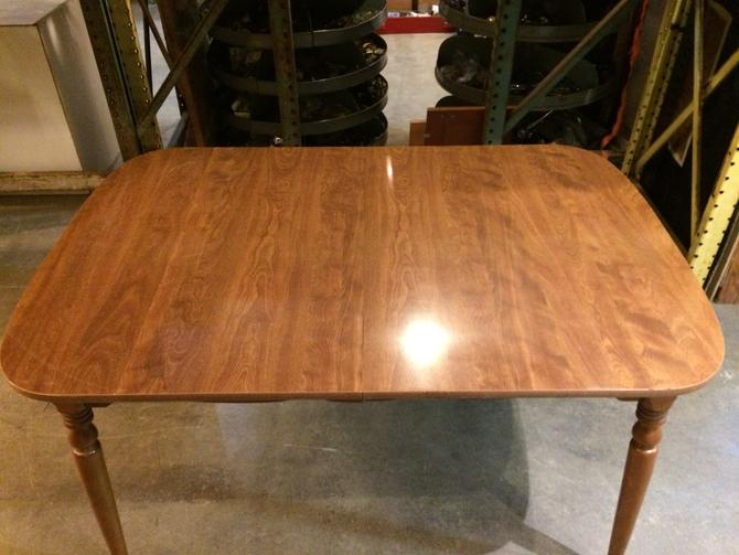 Cherry veneer kitchen table