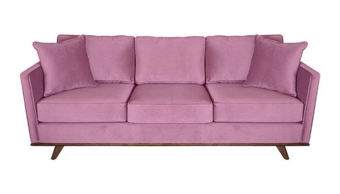 """Skyline"" Sofa in Posh Rosewood"