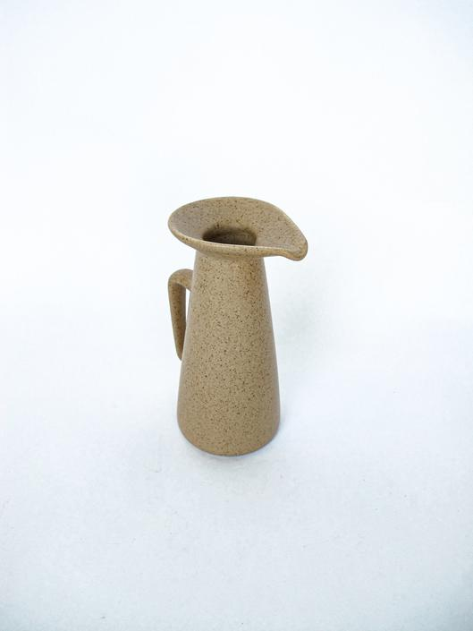Speckled Mid-Century Modern Ceramic Pitcher by PortlandRevibe