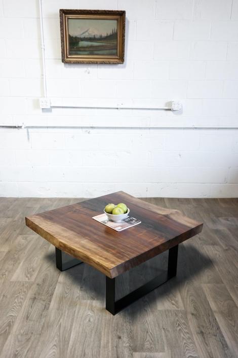 NEW: Black Walnut COFFEE TABLE - Natural - Live Edge - Hardwood by ElpisWorks