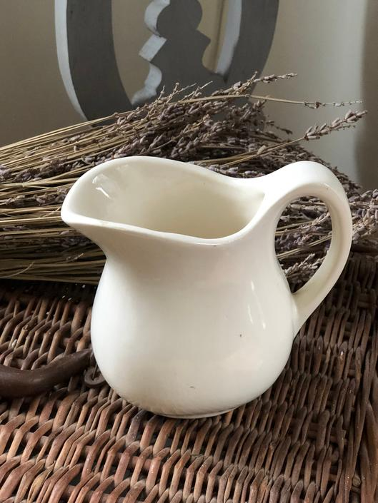 Small Ironstone Pitcher by AnticaMarket
