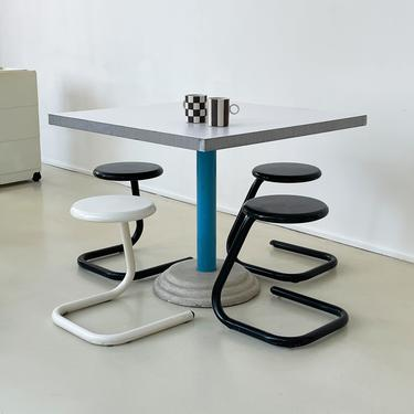 1980s Italian Memphis Style Dining Table