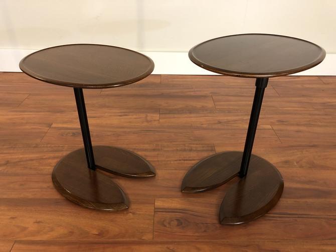 Ekornes Ellipse Side Tables