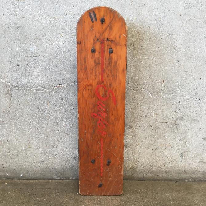 Vintage Surfer Skateboard