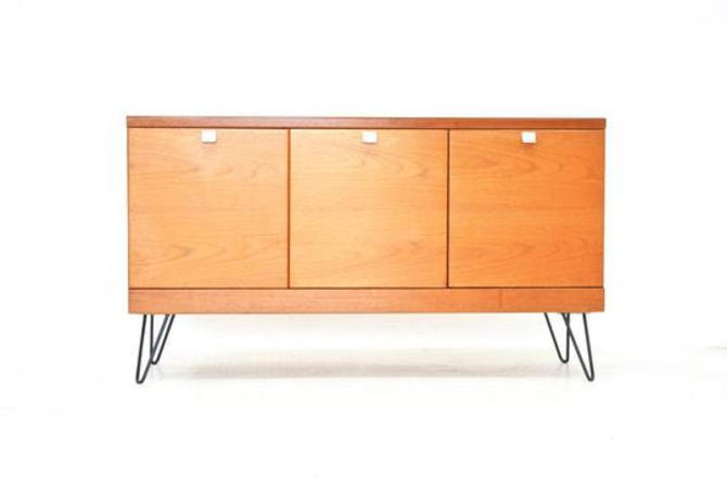 Mid Century Vinyl Record Cabinet by White and Newton. by SputnikFurnitureLLC