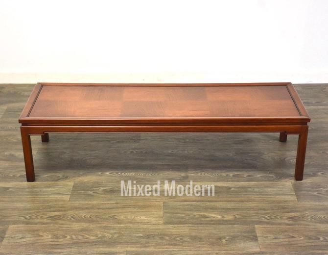 Mid Century Walnut Coffee Table by mixedmodern1
