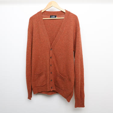 vintage GRUNGE kurt cobain CARDIGAN sweater oversize PCNW slouchy mid-century men's -- size extra large by CairoVintage