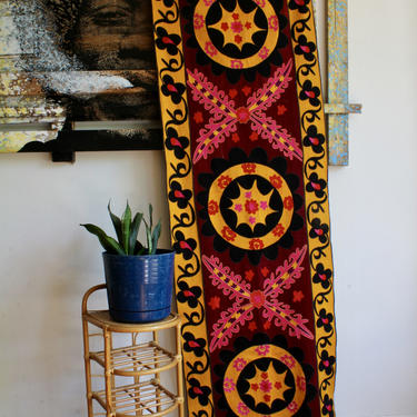 Bohemian Middle Eastern, Moroccan, Indian Colorful Woven Wall Hanging, Boho Tapestry, Tropical, Exotic, Hippie by FORAGEmodernhome